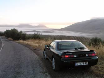 Driving At Dawn