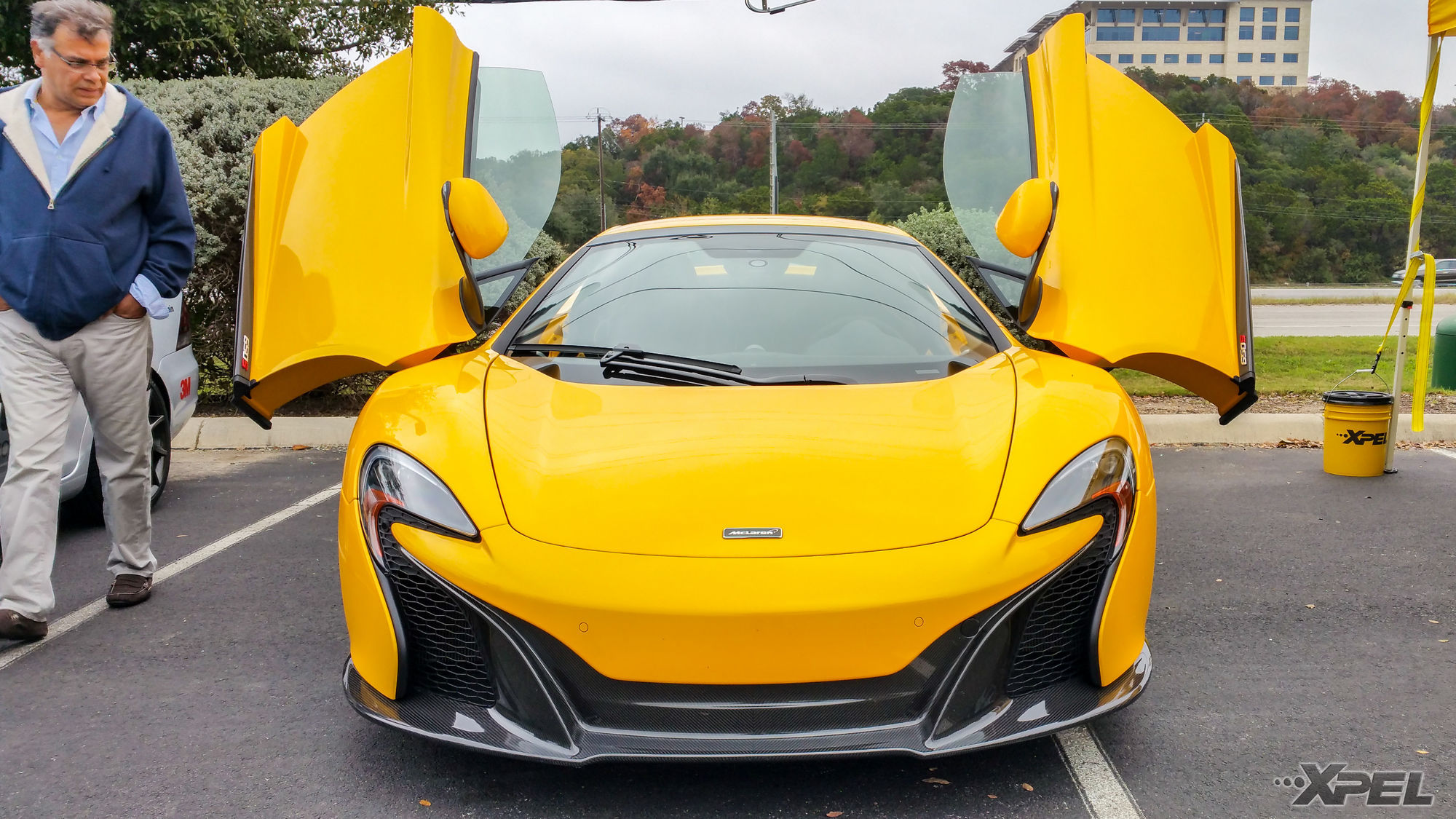 McLaren 650S | Protected with XPEL ULTIMATE self-healing clear bra