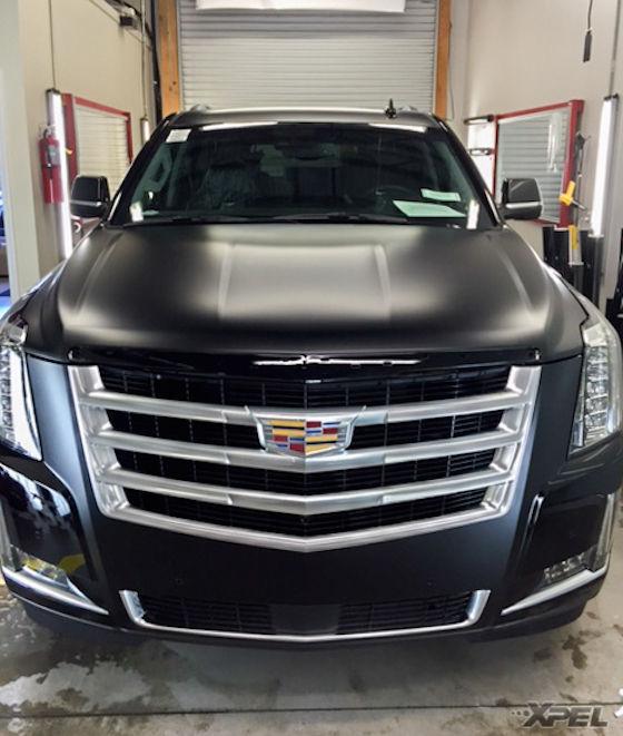 2016 Cadillac Escalade | Cadillac Escalade with XPEL STEALTH