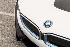 """BMW i8 on 22"""" Avant Garde's - Emblem Shot And Accents"""