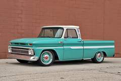 George Poteet's Roadster Shop 1965 Chevy C10 on Forgeline RS-OE1 Wheels