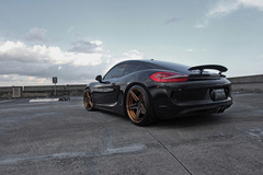 '12 Porsche Cayman S on ADV.1's
