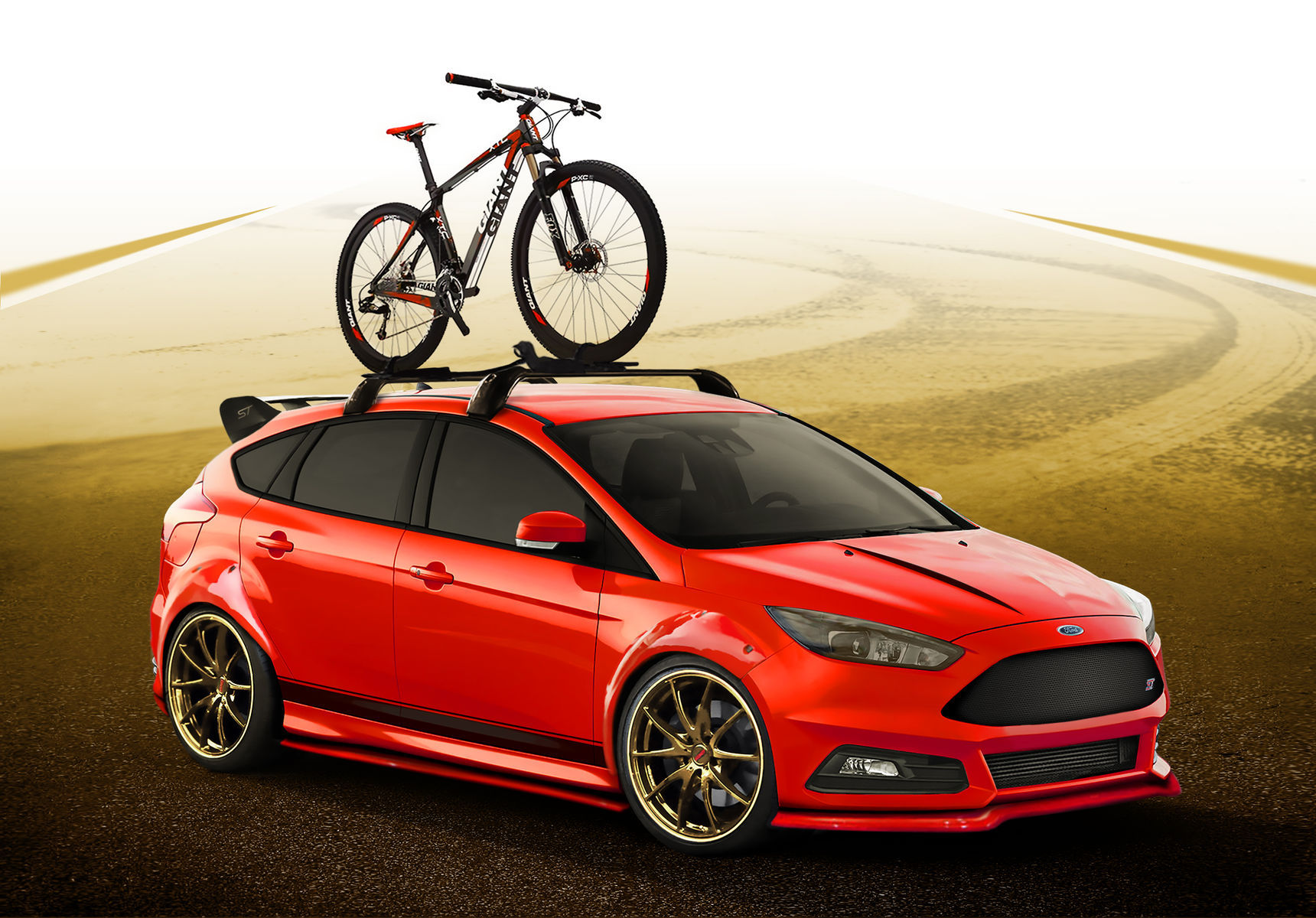 2015 Ford Focus ST | 2015 COBB Tuning Ford Focus ST - Rendering