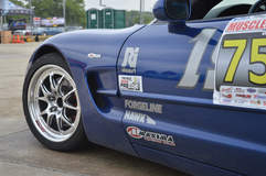 Nathan Popp's C5 Corvette Z06 on Forgeline GA3R Wheels
