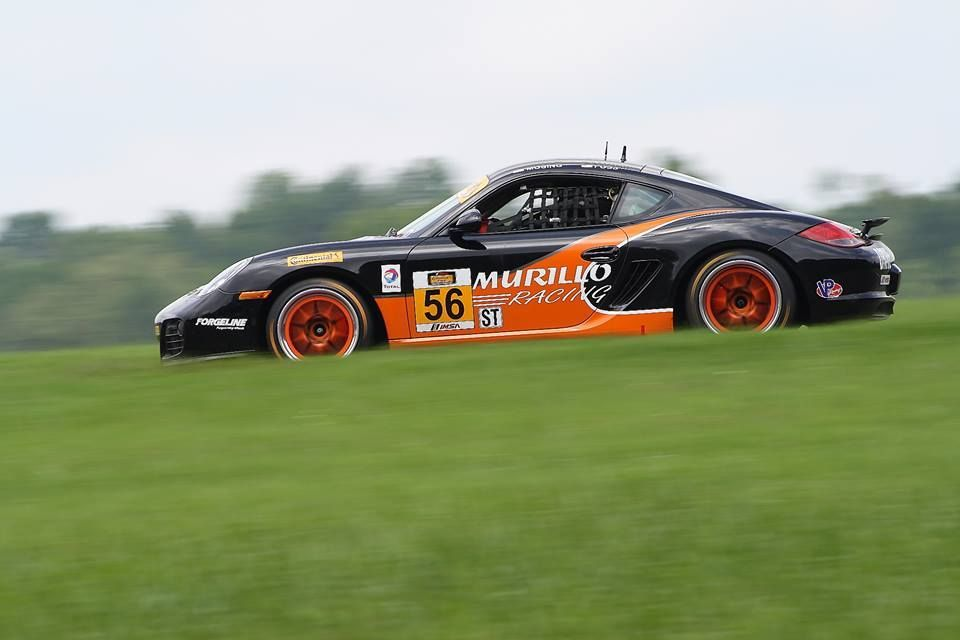 2014 Porsche Cayman | Murillo Racing Wins ST at VIR on Forgeline GA3R Wheels