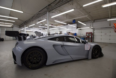 McLaren 12C GT3 fresh off the truck