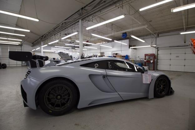2014 McLaren  | McLaren 12C GT3 fresh off the truck