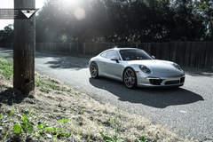 Porsche 911 Carrera S on Vorsteiner V-FF 101 Wheels