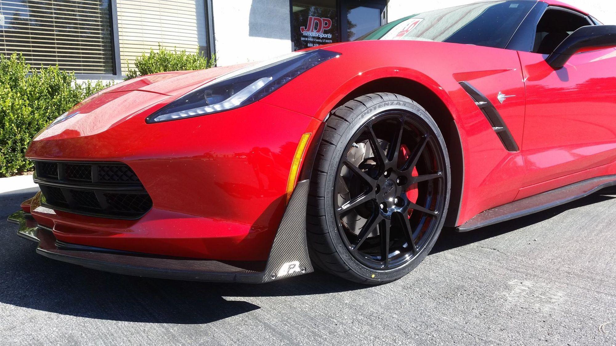 2014 Chevrolet Corvette Stingray | Corvette on Forgeline GA1R Wheels
