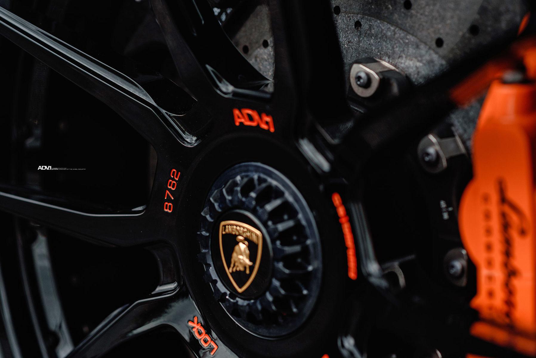 Lamborghini Aventador   Satin Black Lamborghini Aventador S - ADV.1 ADV5.0 M.V2 CS Series Wheels