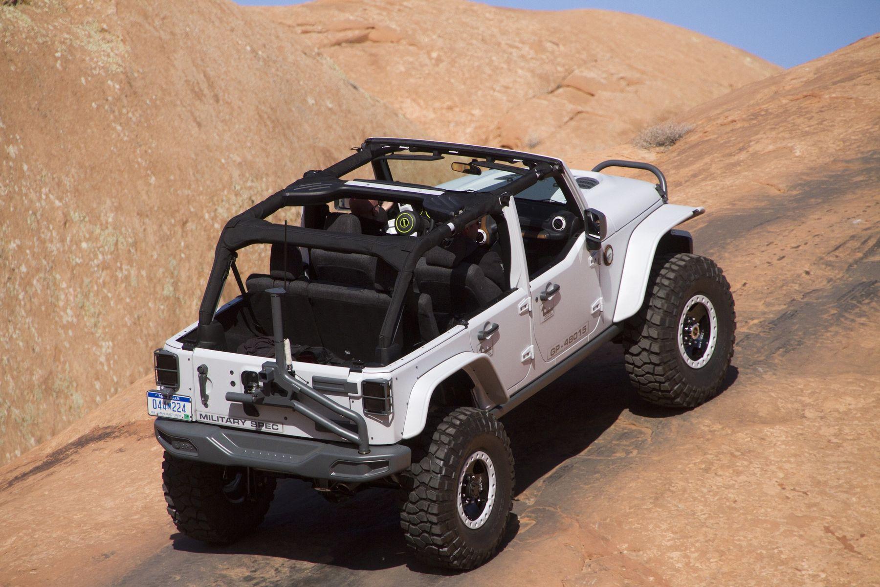 2014 Jeep Wrangler   Mopar Jeep