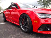 Aron Jacobs' Audi RS7 on Forgeline One Piece Forged Monoblock AR1 Wheels