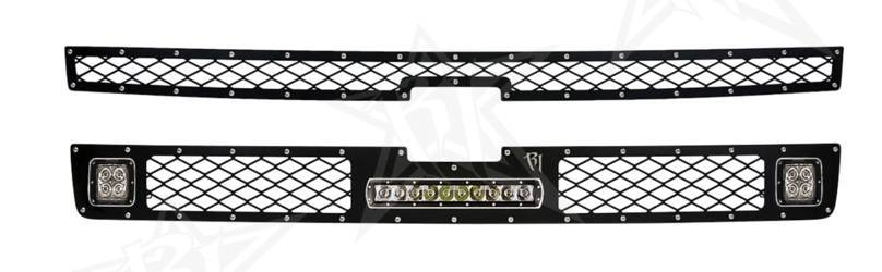 2011-2014 Chevrolet 2500 / 3500 LED Grille Kit