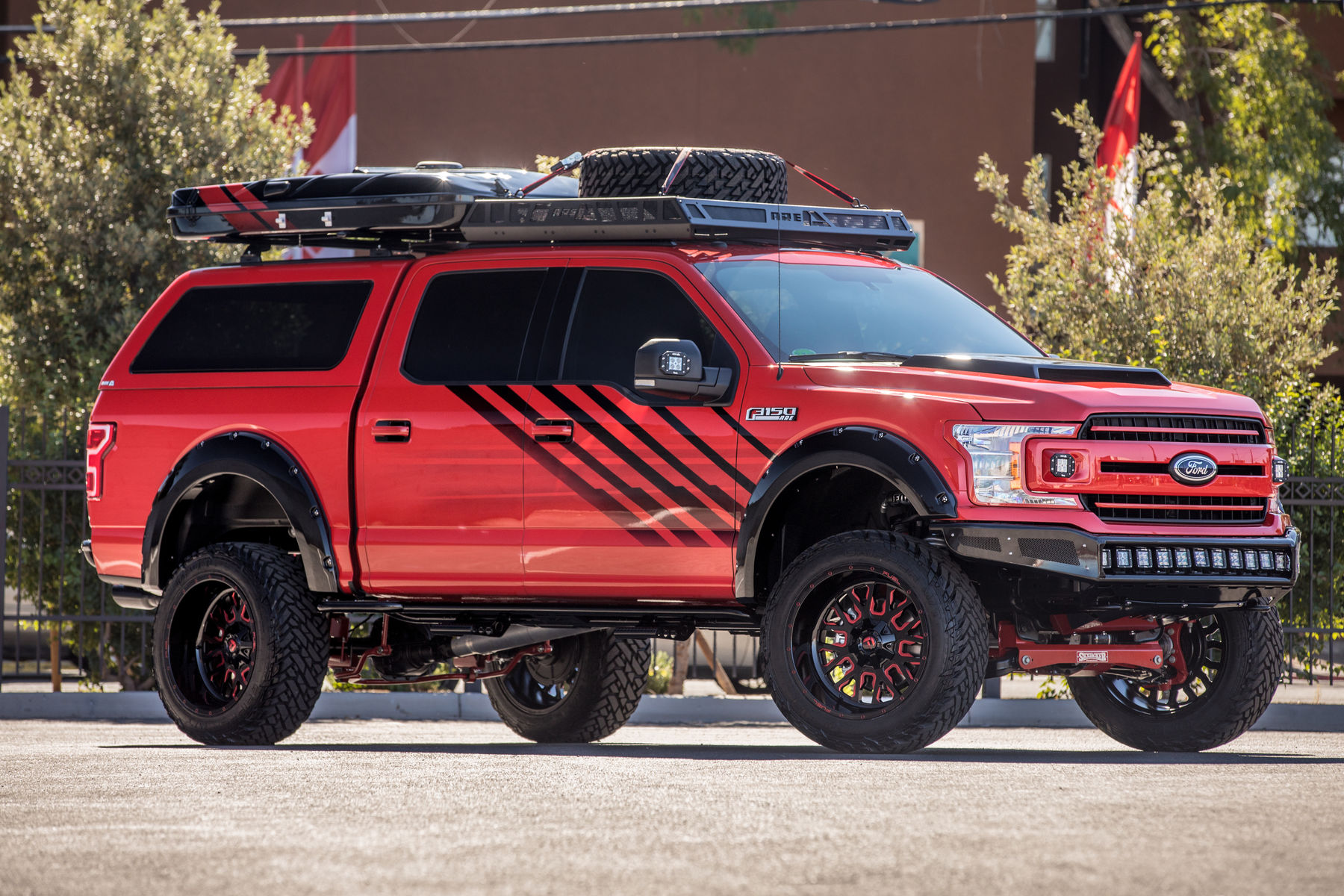 Ford F   Ford F  X Xlt Supercrew By A R E