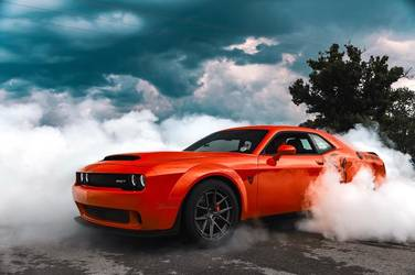 2018 Dodge  | Ken Kelley's Classic Car Liquidators Dodge Demon on Forgeline Carbon+Forged CF201 Wheels