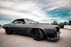 Greg Cullum's Pro-Touring '69 Camaro on Forgeline SP3P Wheels