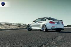 BMW M4 - White Rear Angle Profile