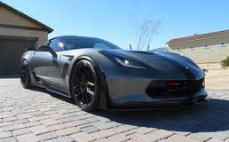 Bill McGee's C7 Corvette Z06 on Forgeline One Piece Forged Monoblock VX1R Wheels