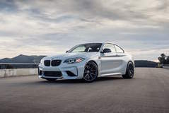 Dinan Engineering's 450HP BMW M2 S2 on Forgeline One Piece Forged MonoblockGA1R Wheels