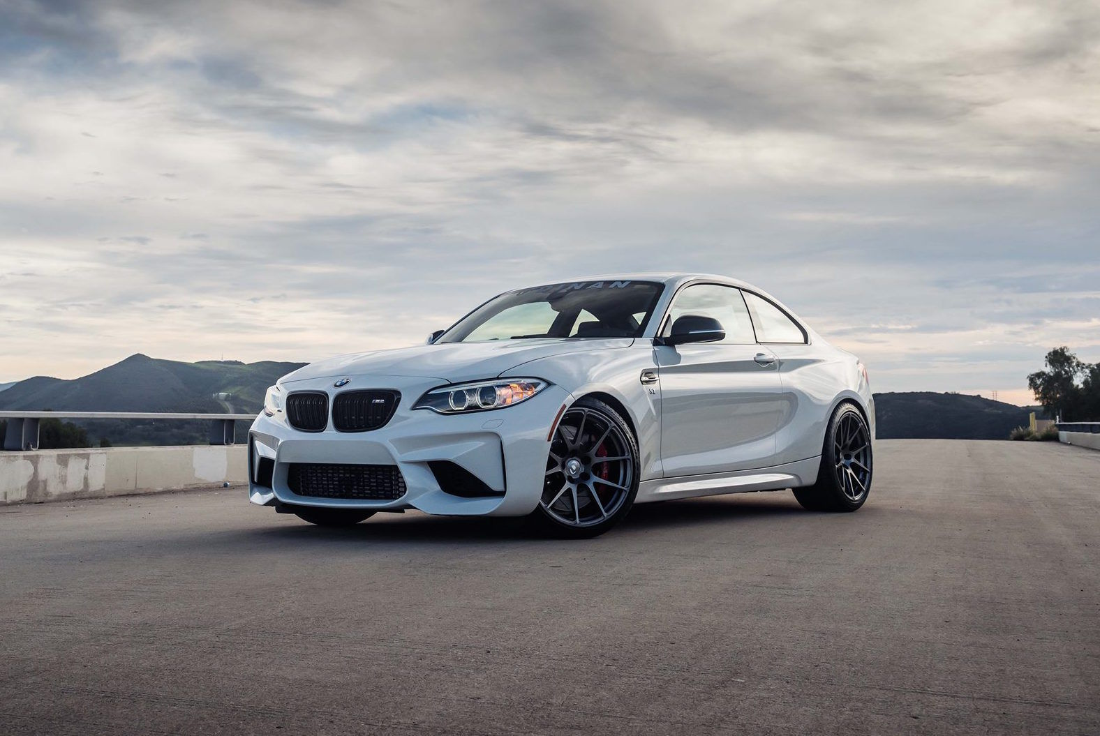 2016 BMW M2 | Dinan Engineering's 450HP BMW M2 S2 on Forgeline One Piece Forged MonoblockGA1R Wheels