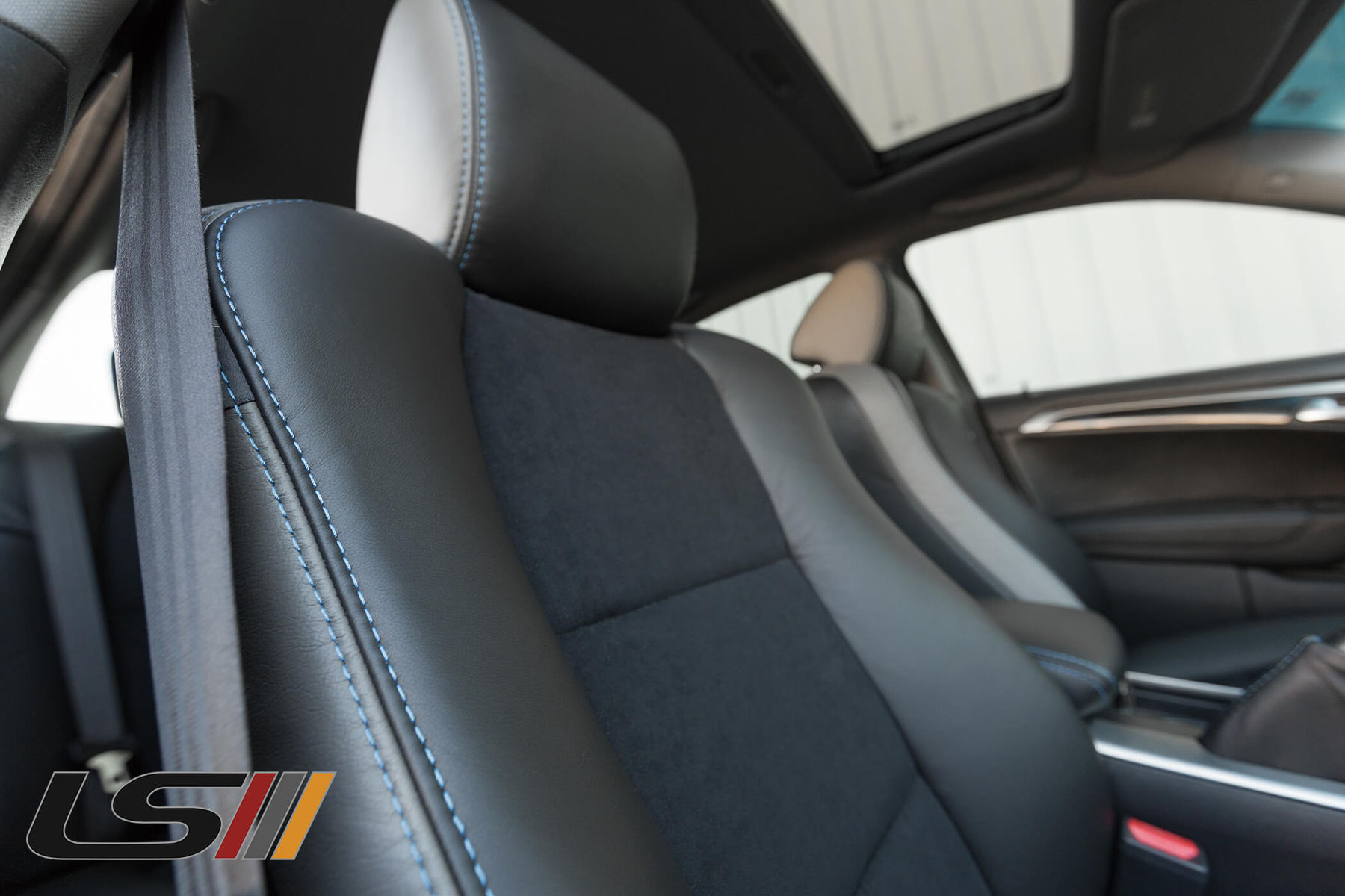 Acura TL ASpec Leather Interior By LeatherSeatscom - 2004 acura tl seat covers