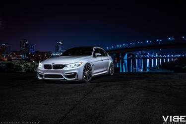 "2016 BMW M3 | '16 BMW M3 on 20"" Avant Garde's - Enjoying The View"