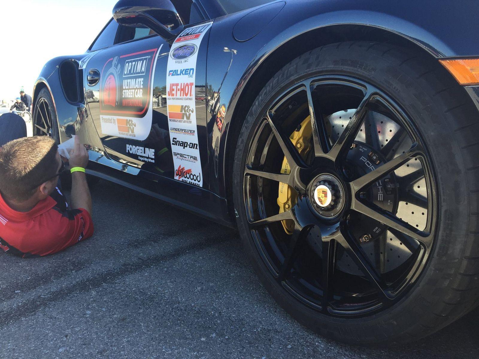 Porsche 911 | Porsche 911 Turbo S on Forgeline GA1R Wheels