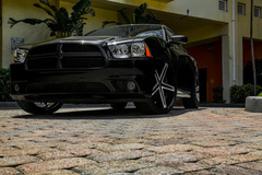 Dodge Charger on Ruff R359's - Front Shot