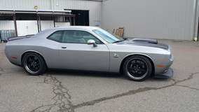 #002 War Hawk Performance Warhawk Dodge Challenger on Forgeline CR3 Wheels