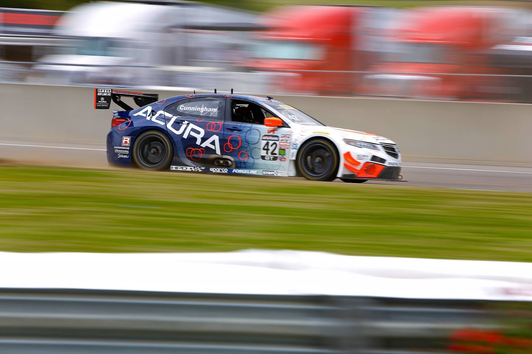 2016 Acura TLX | Peter Cunningham Earns Hard Charger at PWC Round 5 at Barber