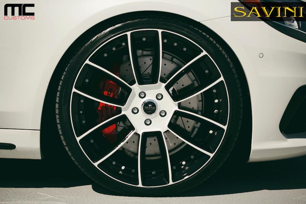 2014 Mercedes-Benz S-Class | '14 Mercedes S63 on Savini Duoblock SV52's