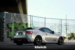 "FR-S on 18"" Klutch ML1 Wheels - Rear Stance"