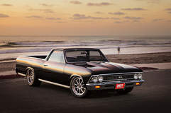 David Roland's 740HP Supercharged LS2-Powered 1966 Chevy El Camino on Forgeline ZX3P Wheels