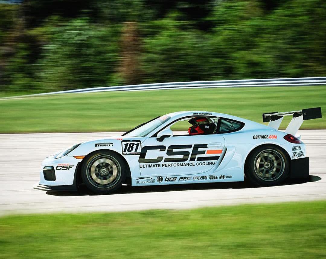 2017 Porsche Cayman | Bilt Racing Porsche Cayman GT4 on Forgeline One Piece Forged Monoblock GS1R Wheels