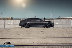 "BMW 535i on 20"" XO Luxury Milan Wheels - Side Profile Shot"