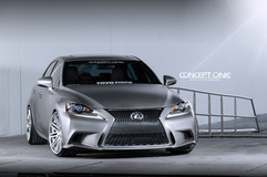 '14 Lexus IS350 F Sport on Concept One CS20's