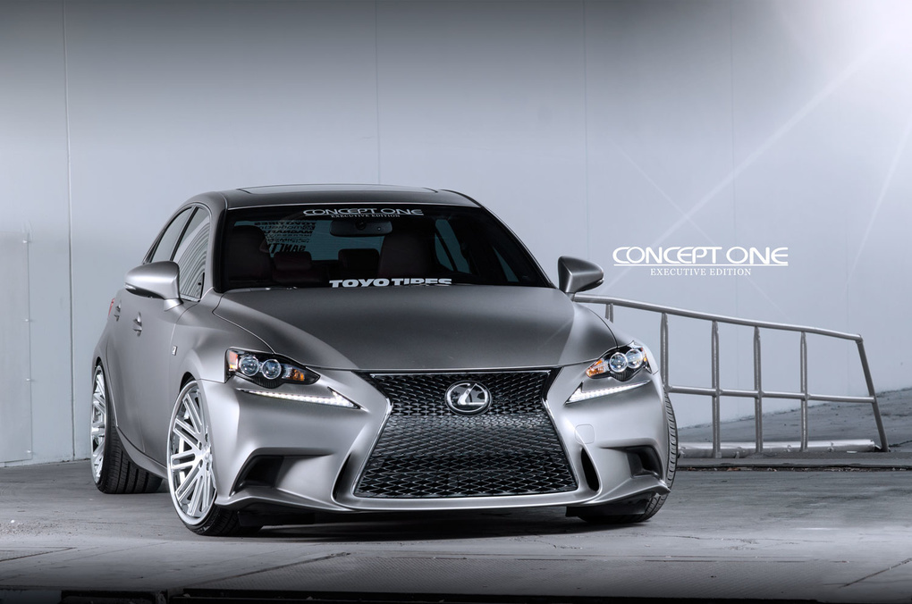 2014 Lexus IS 350 | '14 Lexus IS350 F Sport on Concept One CS20's