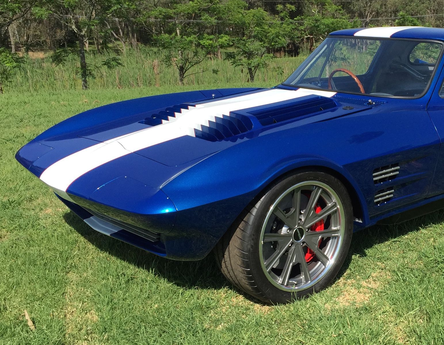 1963 Chevrolet Corvette | Harry Turner's 1963 Corvette Grand Sport on Grip Equipped Grudge Wheels
