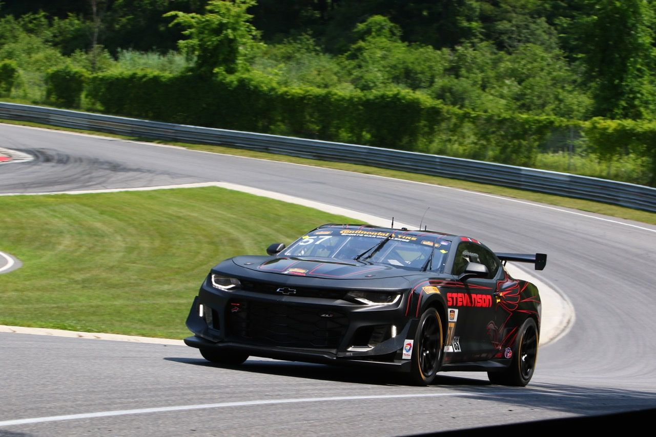 2017 Chevrolet Camaro | Stevenson Motorsports Wins IMSA CTSC GS, at Lime Rock Park, in the #57 Chevrolet Camaro GT4.R on Forgeline One Piece Forged Monoblock GS1R Wheels