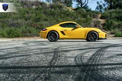 Yellow Porsche Boxster - Side Profile