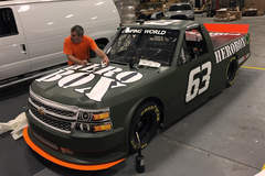 Wrapping a Race Truck- Step 1