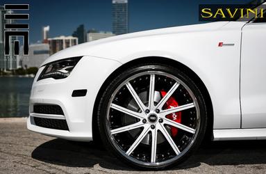 2013 Audi A7 | '13 Audi A7 on Savini SV37's