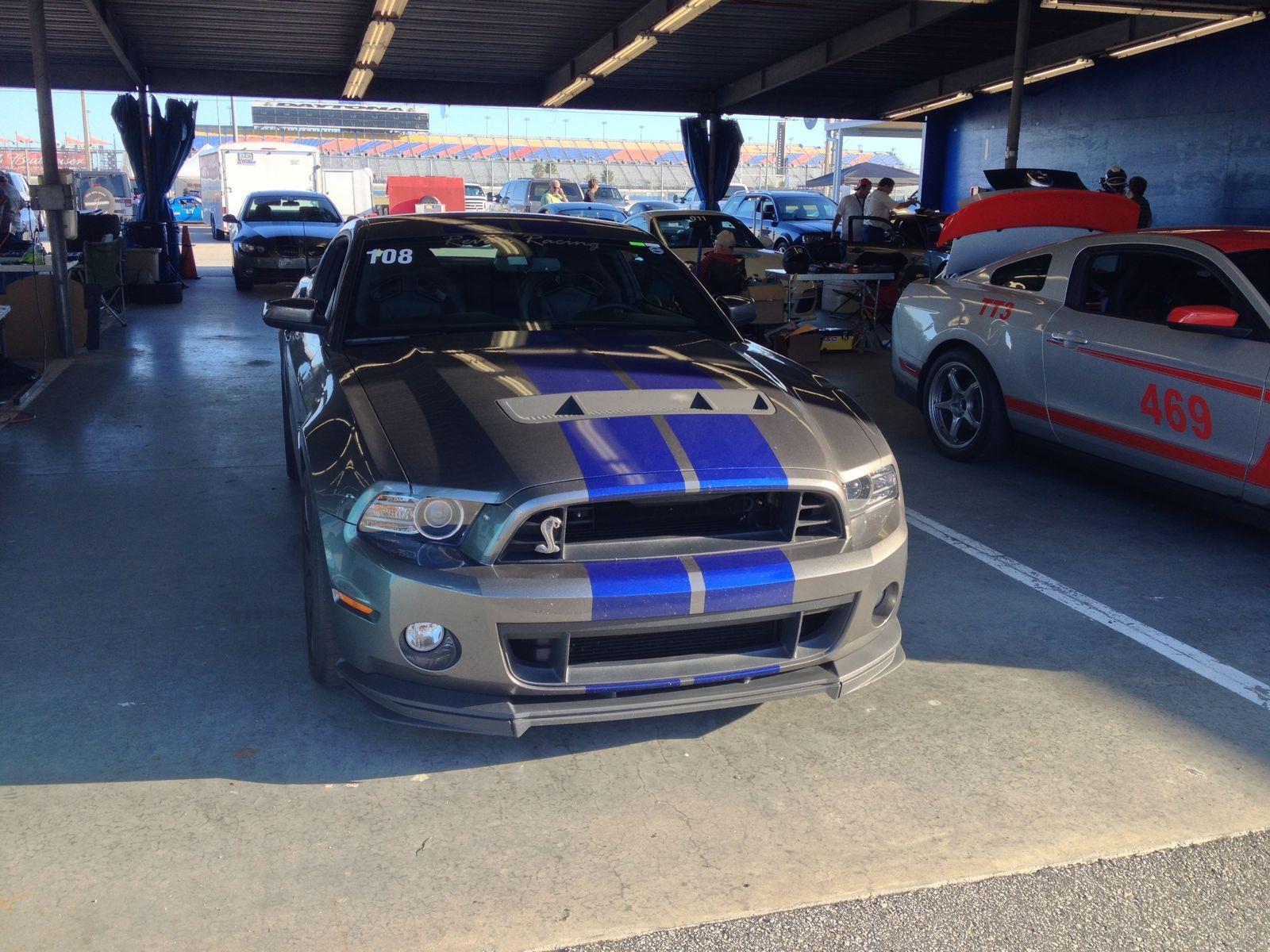 | Mustang GT500 at Daytona