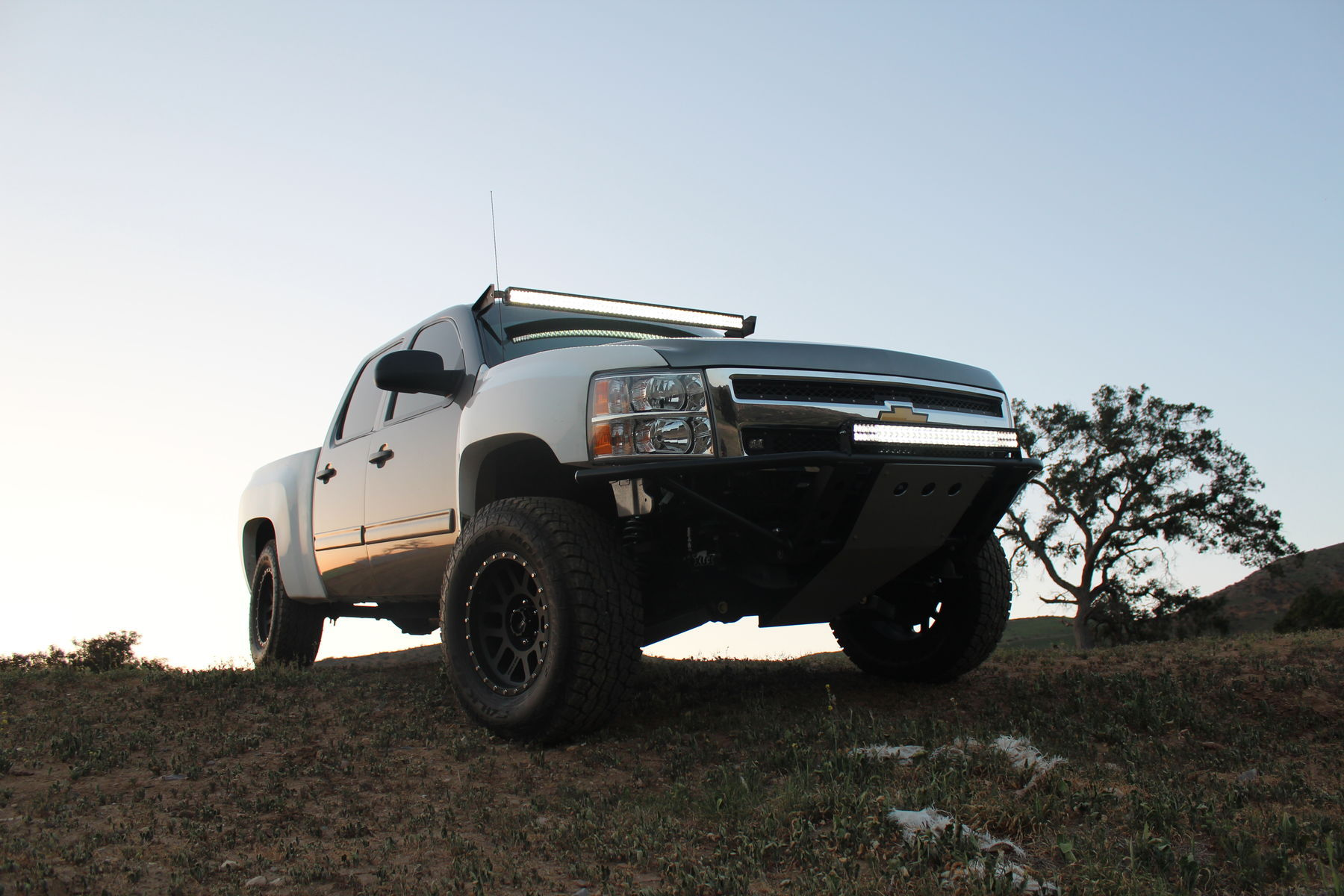 2012 Chevrolet C/K 1500 Series | Chevy Silverado 1500 Off-Road Build - Passenger Side Angle