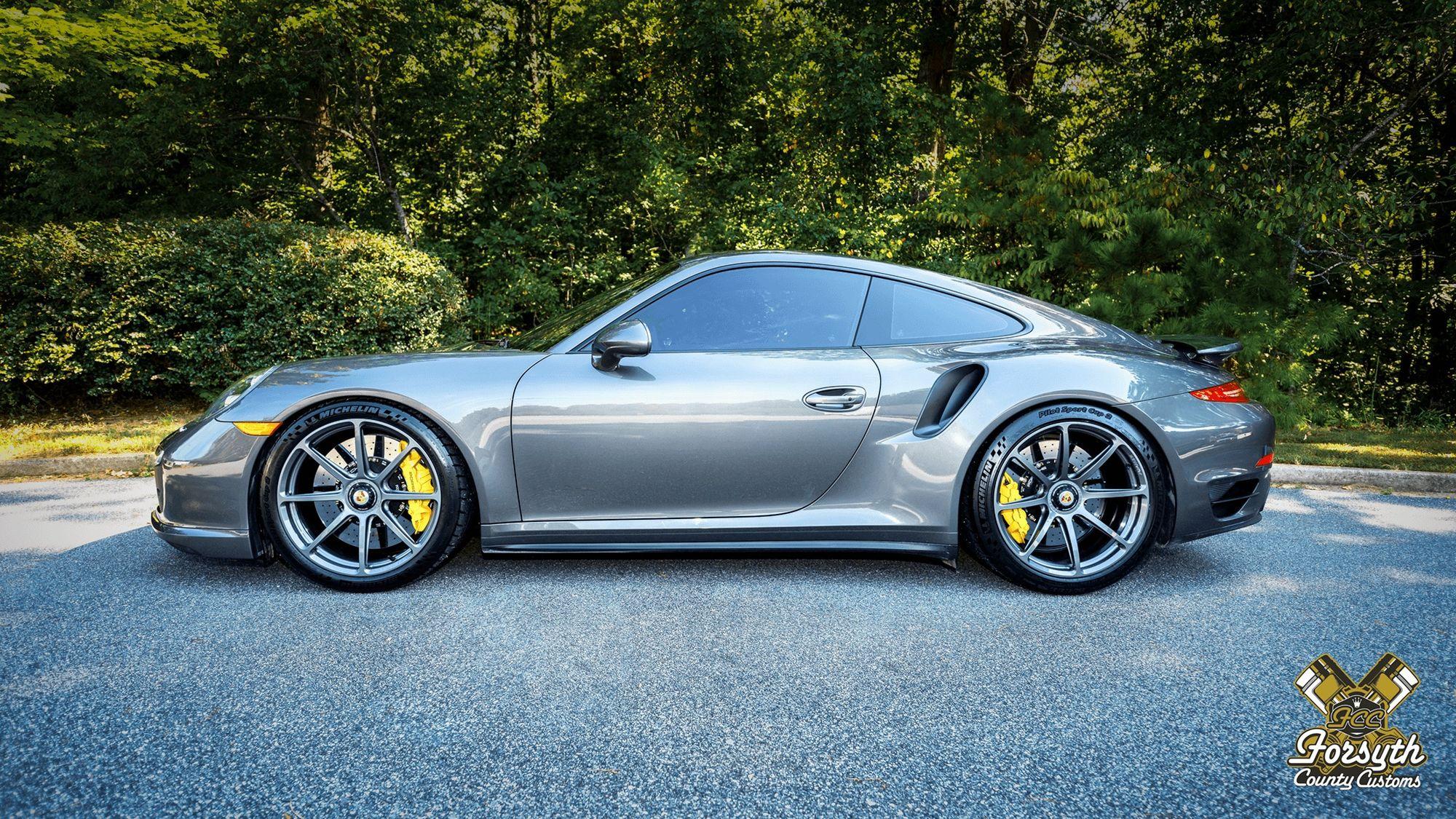 2015 Porsche 911 | George Smith's Porsche 911 Turbo S on Forgeline GE1 Wheels