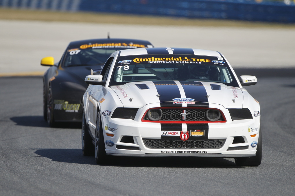 Ford Mustang | The Continental Tire SportsCar Challenge kicked off in full force at Daytona this year.