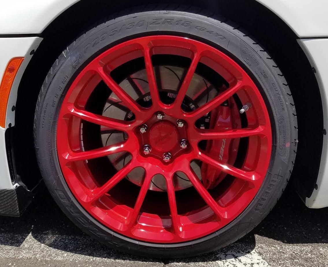 2013 Dodge Viper | Roy K's Gen 5 Dodge Viper on Forgeline One Piece Forged Monoblock GTD1-Viper Wheels
