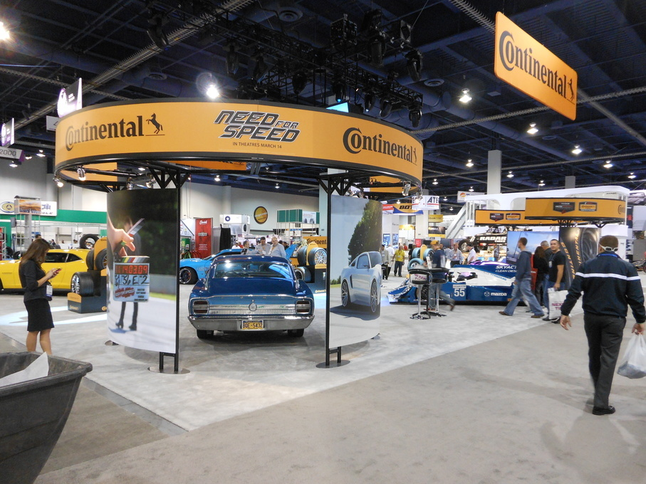 | Representing our Continental Tires at the SEMA show in 2013