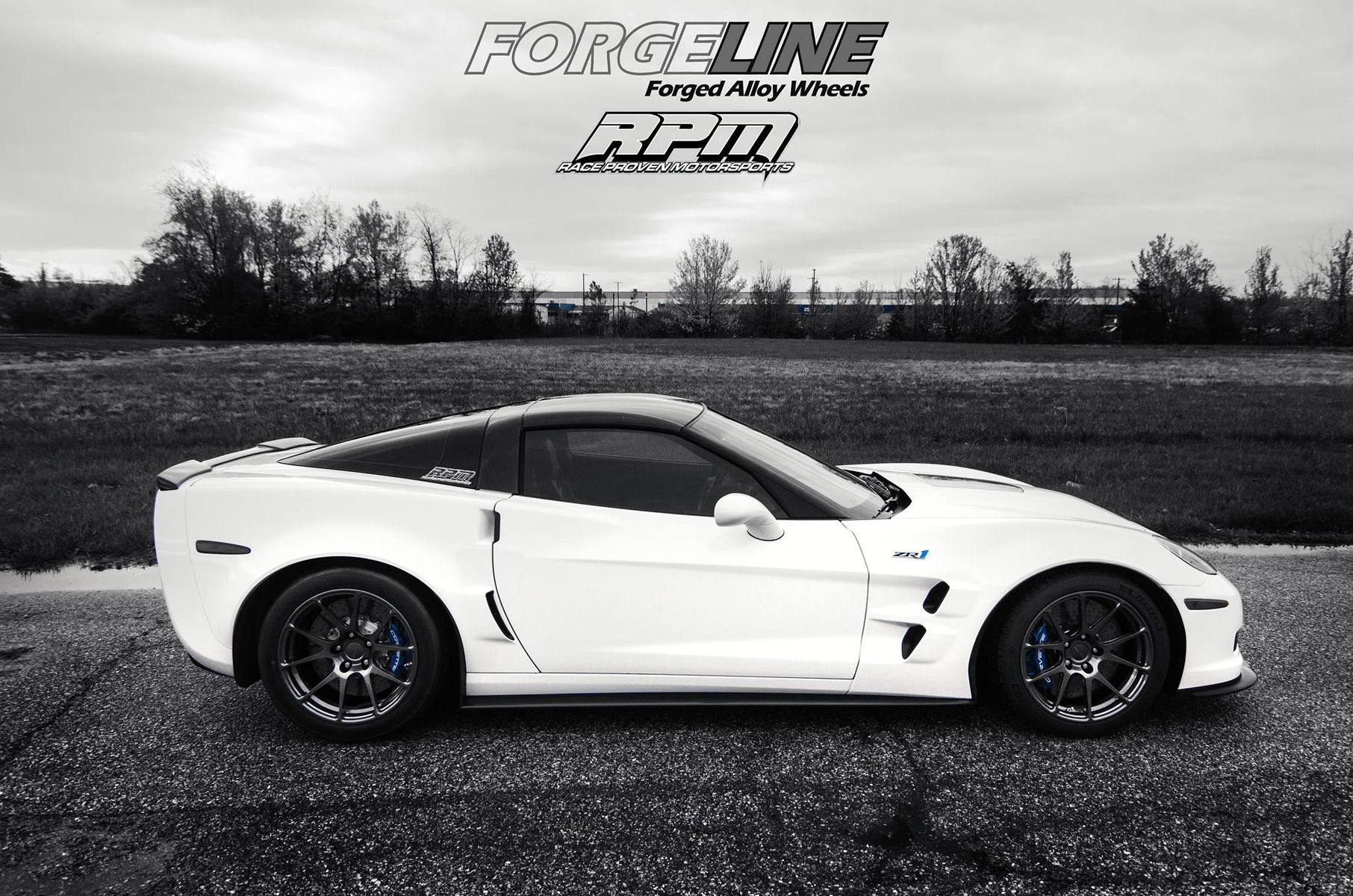 2013 Chevrolet Corvette ZR1 | Fran's Race Proven Motorsports C6 Corvette ZR1 on Forgeline One Piece Forged Monoblock GA1R Wheels