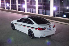 The Wrapped M4 - Left Rear Quarter